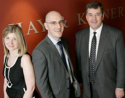 Sarah Furness, Mark Adams & Neill Winch