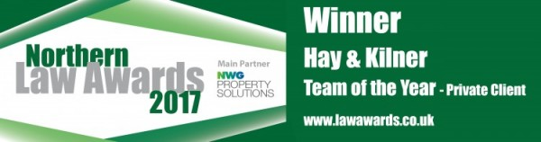 Hay and Kilner - Private Client Team NLA 2017