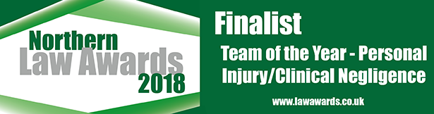 Northern Law Awards - Clinical Negligence Team Shortlisted