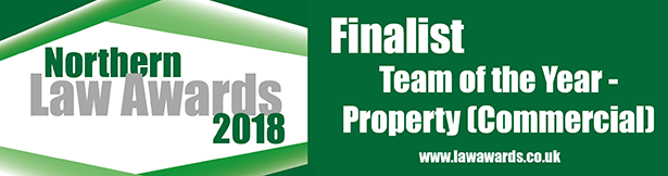 Northern Law Awards - Commercial Property Team Shortlisted