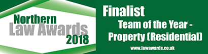 Northern Law Awards - Residential Property Team Shortlisted