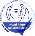 Head Injury solicitor 2013 logo
