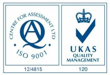 CfA UKAS ISO 9001 Logo with number