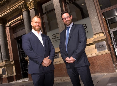 Adam Thompsonof Stessa Commercial Limited and Chris Anderson of Hay & Kilner