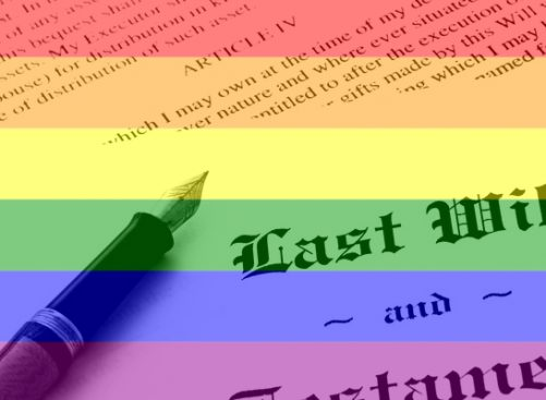 LGBT impacts on Wills and Estates