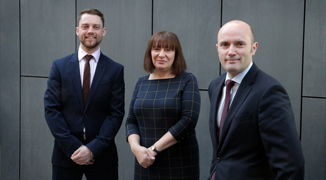 BD Appointment - Jack Birks and Elaine Magnani with Jonathan Waters
